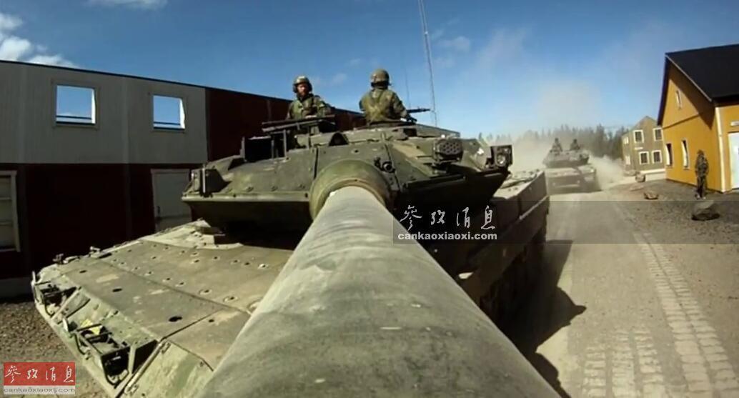 1分钟内灭六目标! 瑞典豹2坦克实弹打靶(图9)