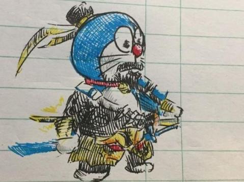 王者荣耀恶搞系列: 机器猫版的嬴政和宫本武藏, 最后一点好有道理