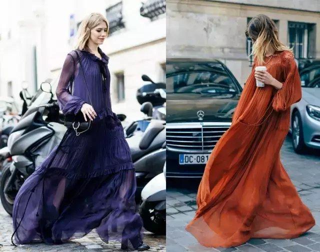 今夏仙气十足的纱裙才是主流, 因为显瘦 24