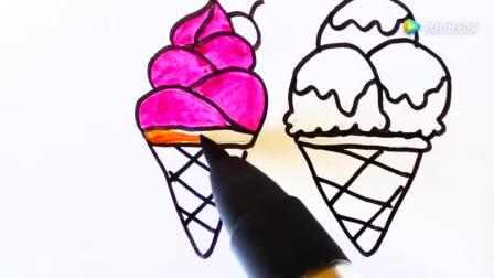 打开 手绘好吃又好看的甜筒冰淇淋儿歌简笔画 打开 动漫手绘: super