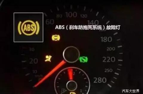 开车必懂的汽车仪表盘指示灯图解