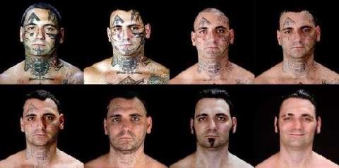 美国黑社会头目为家庭洗掉纹身, 从此变身好男人 5