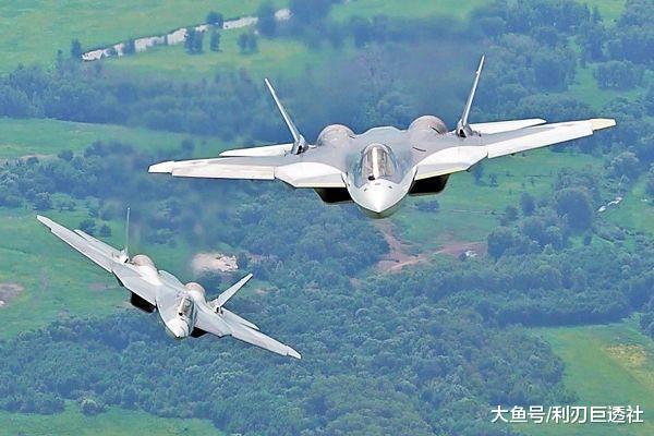 穷啊! 俄可能只买得起12架苏-57 200公里外暴打F-22又如何