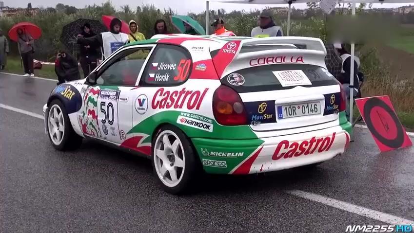 经典汽车视频 97丰田卡罗拉 拉力赛车