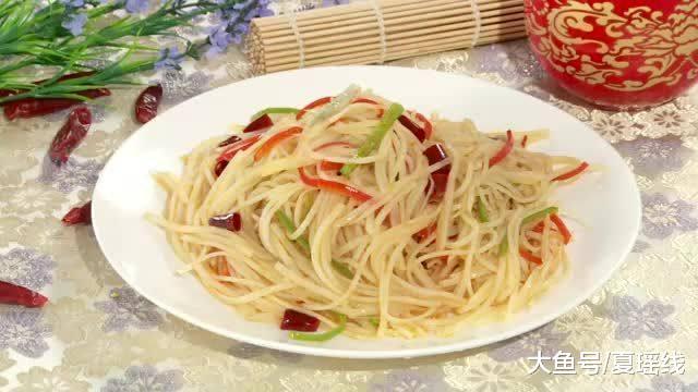 营养健康家常小菜,浸泡是为了省油,简单易做,主妇必备菜谱