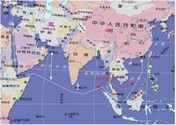 美国耗尽心血的第一岛链被中国用1000亿搞定, 新加坡进退两难