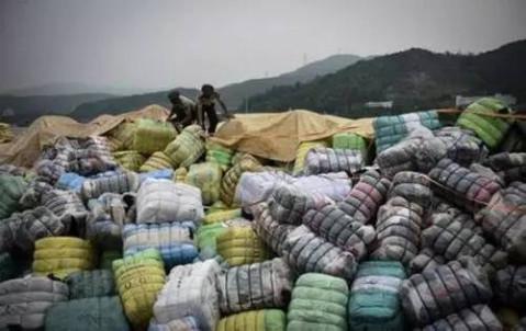 外贸服装洋垃圹f�x�_抚顺人你买过这种外贸么? 549吨洋垃圾衣服 太平间旧!