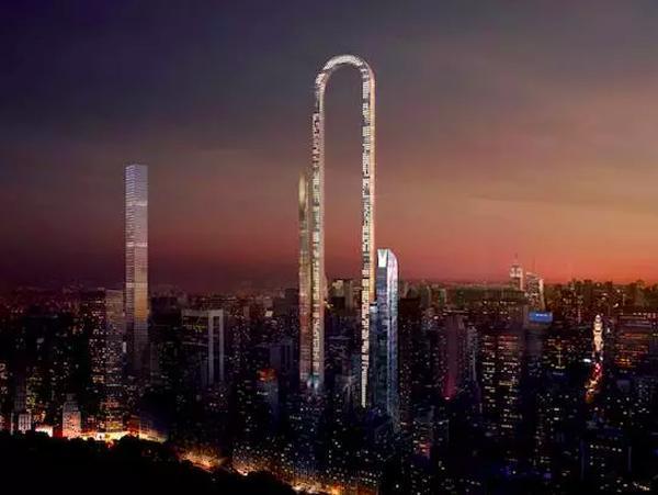 纽约便对市内的高层建筑做了限制,也就激发了设计师的灵感,设计出了这图片