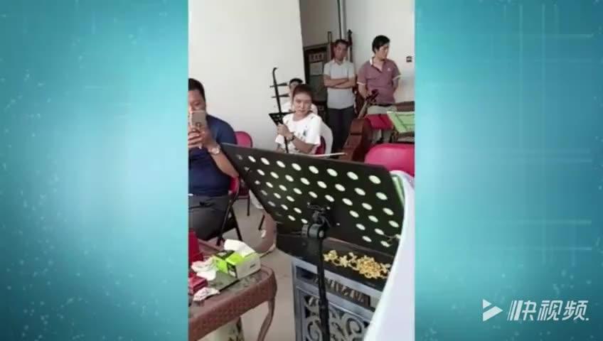 陈百甫板胡伴奏秦腔《赶坡》选段