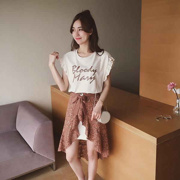 夏季半身裙_T恤+半身裙, 是这个夏季的最佳打开方式!