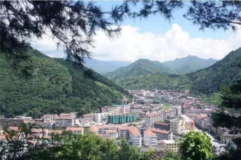 陕西省宝鸡市城市风景