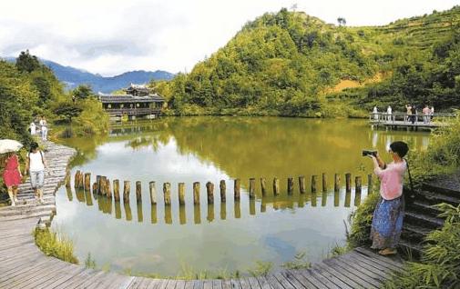 闽东畲族简单风景图片