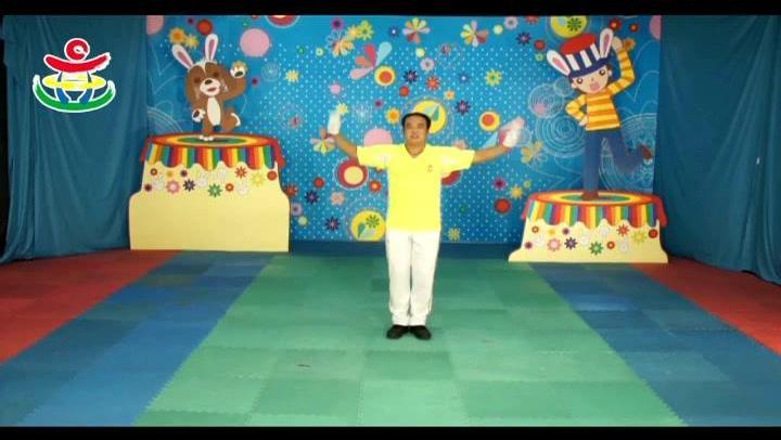 幼儿园中班《加加油》幼儿舞蹈视频教学[高清]