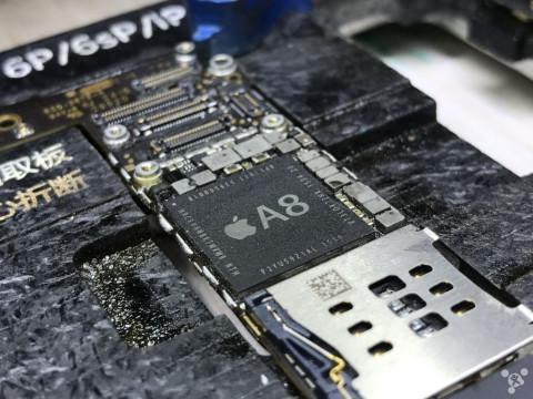 锋友分享: 修复 iphone 6 plus 花屏/无wifi