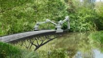 世界第一座3D打印桥,钢筋和混凝土同时打印,业界首创