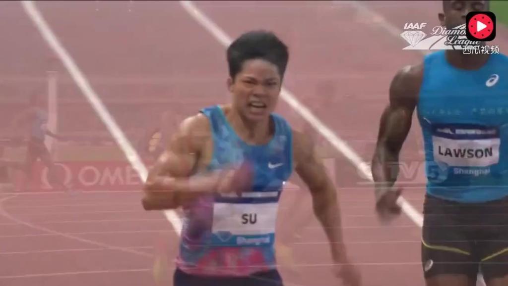 外国媒体惊呆了!苏炳添赢得了男子100米的钻石联赛!