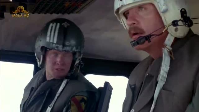 《攻陷葛兰高地》战场上直升机的作用, 直接扫射压制大批敌军!