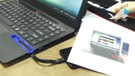 Miraxess Mirabook终版上手,将智能手机变成笔记本电脑