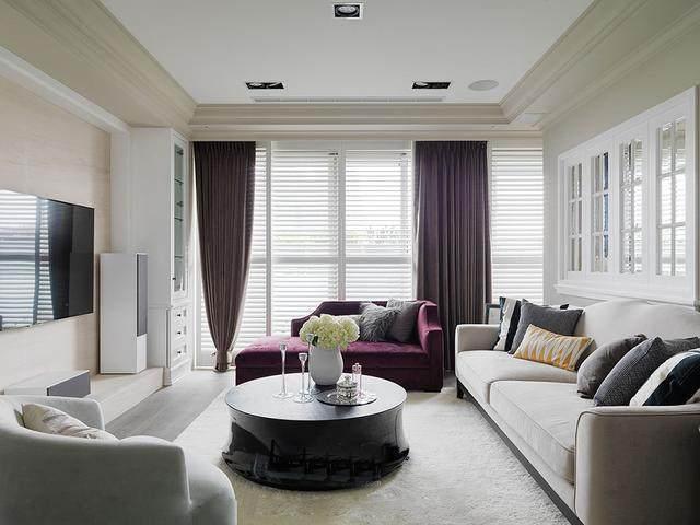 美式简约风格装修效果图 知性优雅住宅图片
