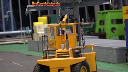 RC遥控卡车挖掘机集装箱卡车