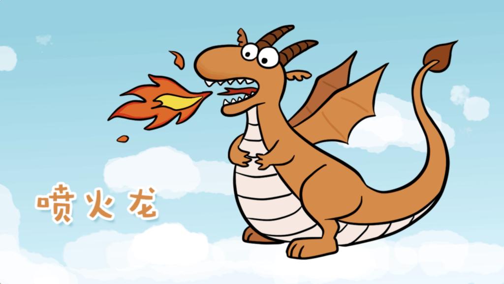 打开 打开 儿童创意恐龙简笔画: 一起来画凶猛会飞的喷火龙吧 打开