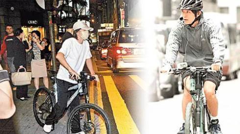 片酬超亿, 身价300亿, 法拉利放家里生灰, 出门依然低调骑自行车