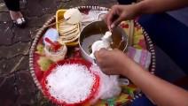 美食无国界: 越南手工现在香甜麦芽糖米饼