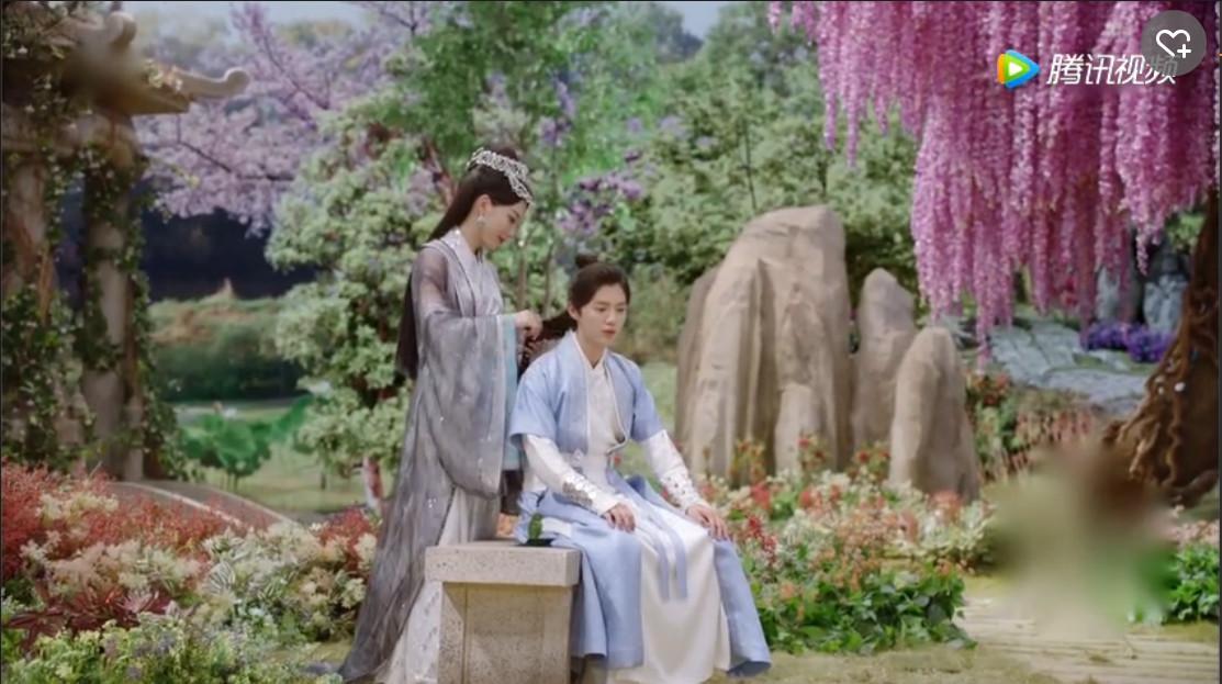 古装婚礼场景背景素材