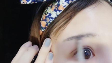 美妆美妆时尚#染眉膏防水不易掉色,我用的都有麦,找我v