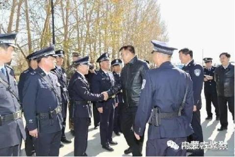 内蒙古自治区副主席马明到保安沼监狱 乌兰监狱 乌塔其监狱视察工作