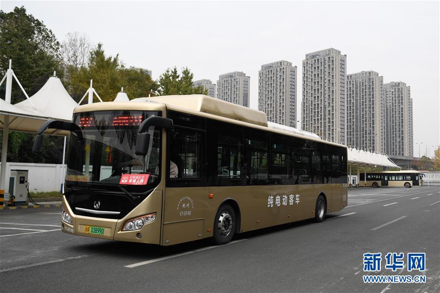 """杭州: 2500余辆公交车已实现""""零排放"""""""