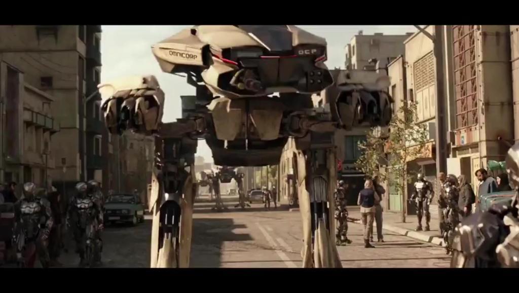 《机械战警》: 最强机器科幻片,警察机器人称霸未来世界