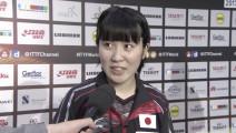 平野败后: 我输在中国队都想赢我吧
