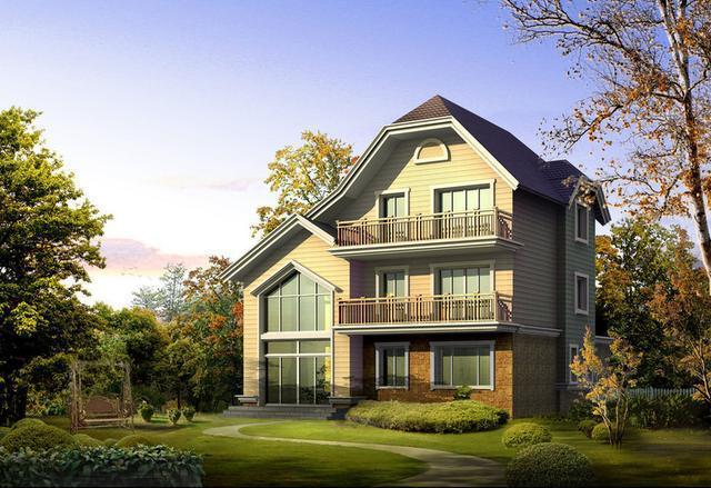 农村三层简欧式自建房户型, 室内布局你能挑出毛病?