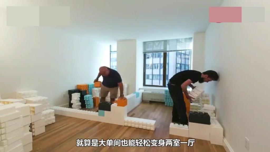 国外小伙发明新型砖块,不用水泥就能盖房子,不再担心倒塌