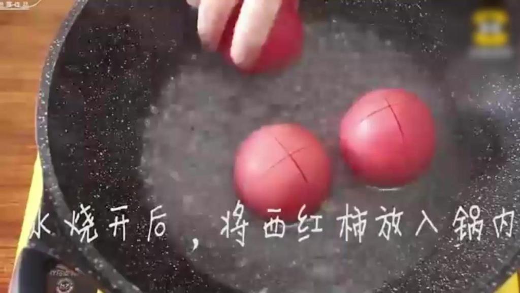 把西红柿倒入鸡蛋里,美味极了,你学会了吗?原创