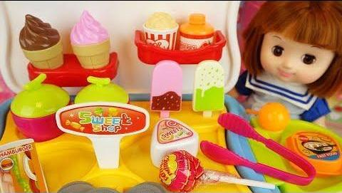 0376 - 婴儿娃娃冰淇淋糖果和厨房玩具娃娃玩