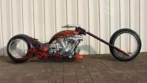世界上最炫酷的摩托车,没有轮毂,骑起来像在飞!