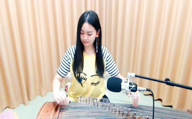 YY6716紫若辰古筝演奏小提琴曲《梁祝》