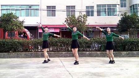 三位乡村姐姐健身操: 《草原绿了》动感时尚修身美腿