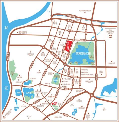 铜陵手绘地图高清版