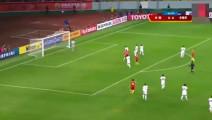 中国足球: 对比男足射门,女足是这样做的!男足能用心一点吗?