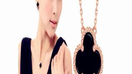 女明星们最爱的四叶草项链是什么牌子,梵克雅宝四叶草项链多少钱一条