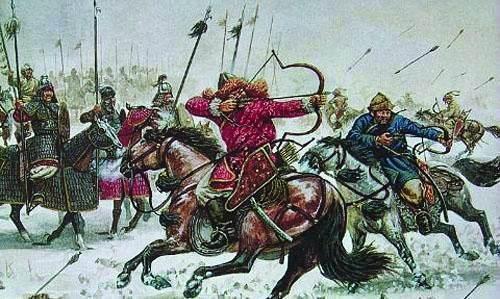 一成吉思汗后裔部落, 被沙俄统治, 坚决率部东归, 名留青史