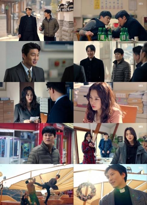 韩剧话题性第一名《热血司祭》, 收视率也第一名…瞬间达到最高23.6%(图5)
