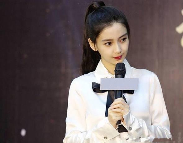 当女星穿上白色衬衣, 杨幂性感, 杨颖清纯, 谁才是你心中的第一呢?