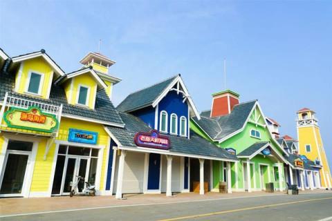 渤海湾的小三亚: 秦皇岛渔岛温泉度假区,沙雕海洋乐园