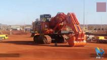 中国造全球最大挖掘机,有8层楼高,自重有2000吨但很灵活!