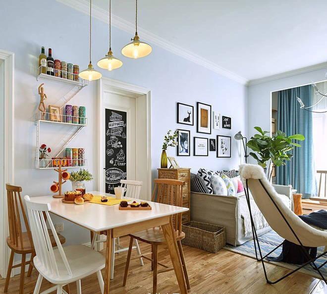 阜新78㎡北欧风格家居装修设计案例丨阜新方林装饰