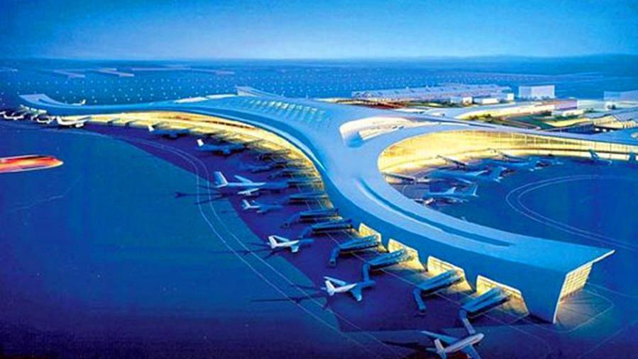 新郑机场平面图高清